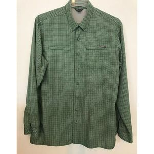 Eddie Bauer Mens Relaxed Fit Wrinkle Resist Shirt